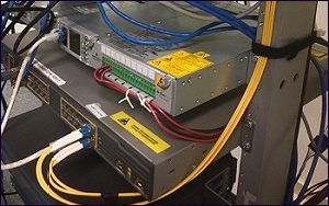 Servers Switches Fiber Connectivity